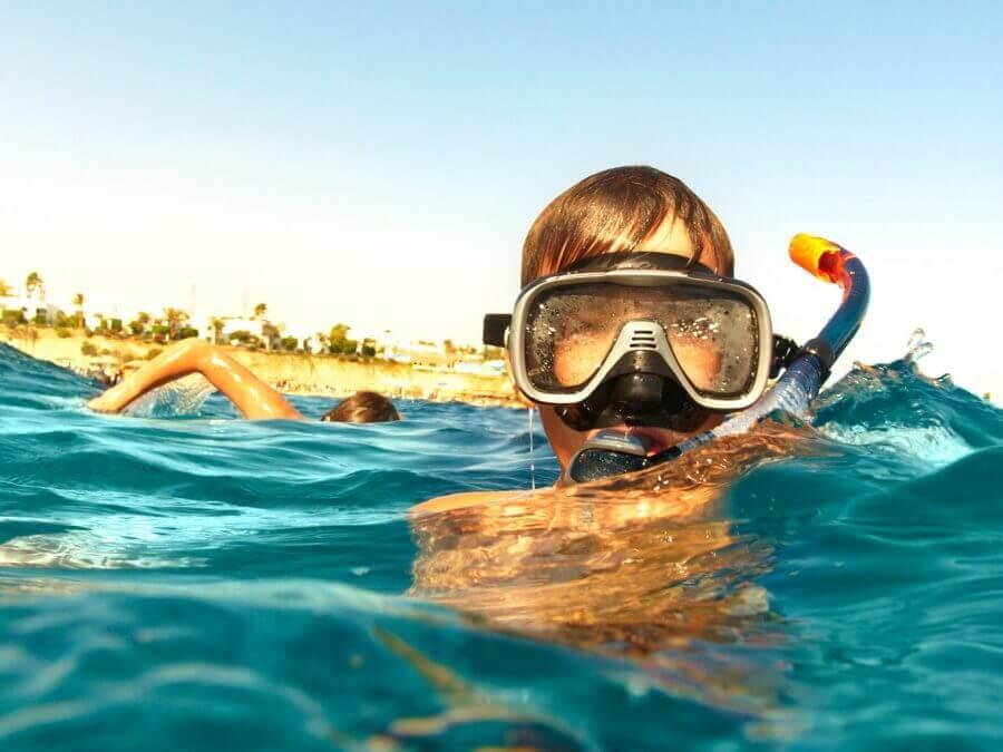 Diving for children